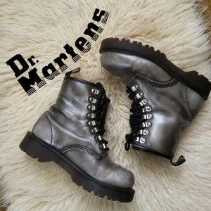 Vintage Dr. Martens Boots Leather Made in England